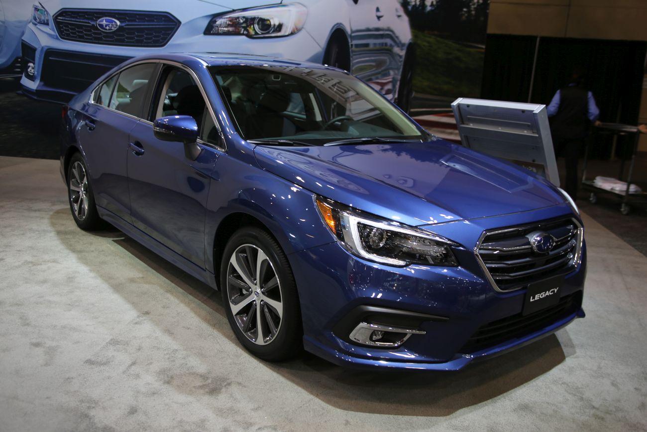 Inside The 2019 Subaru Legacy