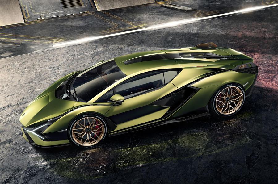Inside the Lamborghini Sian A Hybrid From the Future