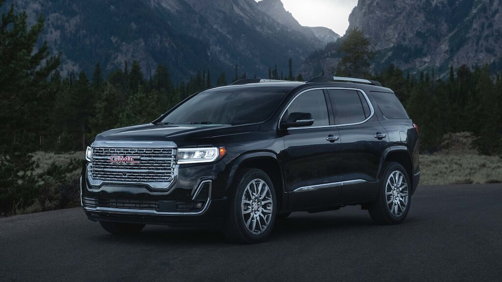 Inside the 2020 GMC Acadia: For Family Functions or Off ...