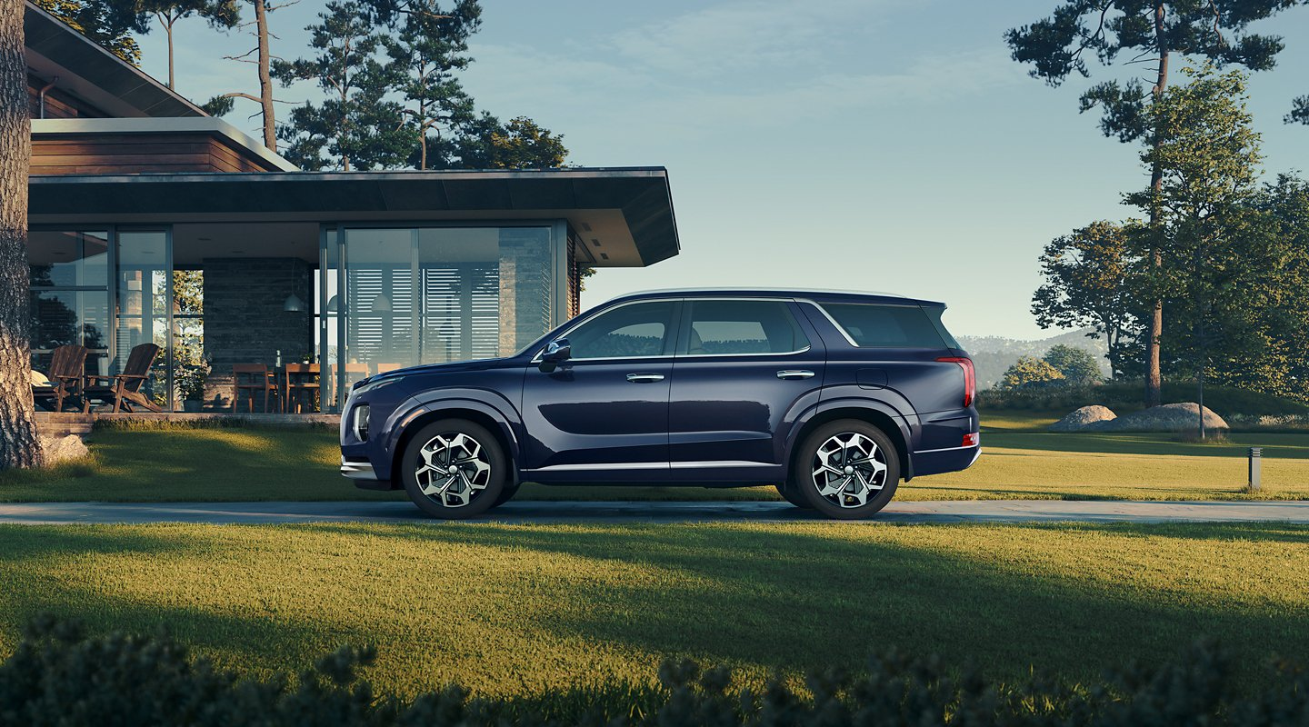 Inside the 2021 Hyundai Palisade: A Luxury SUV for the Masses