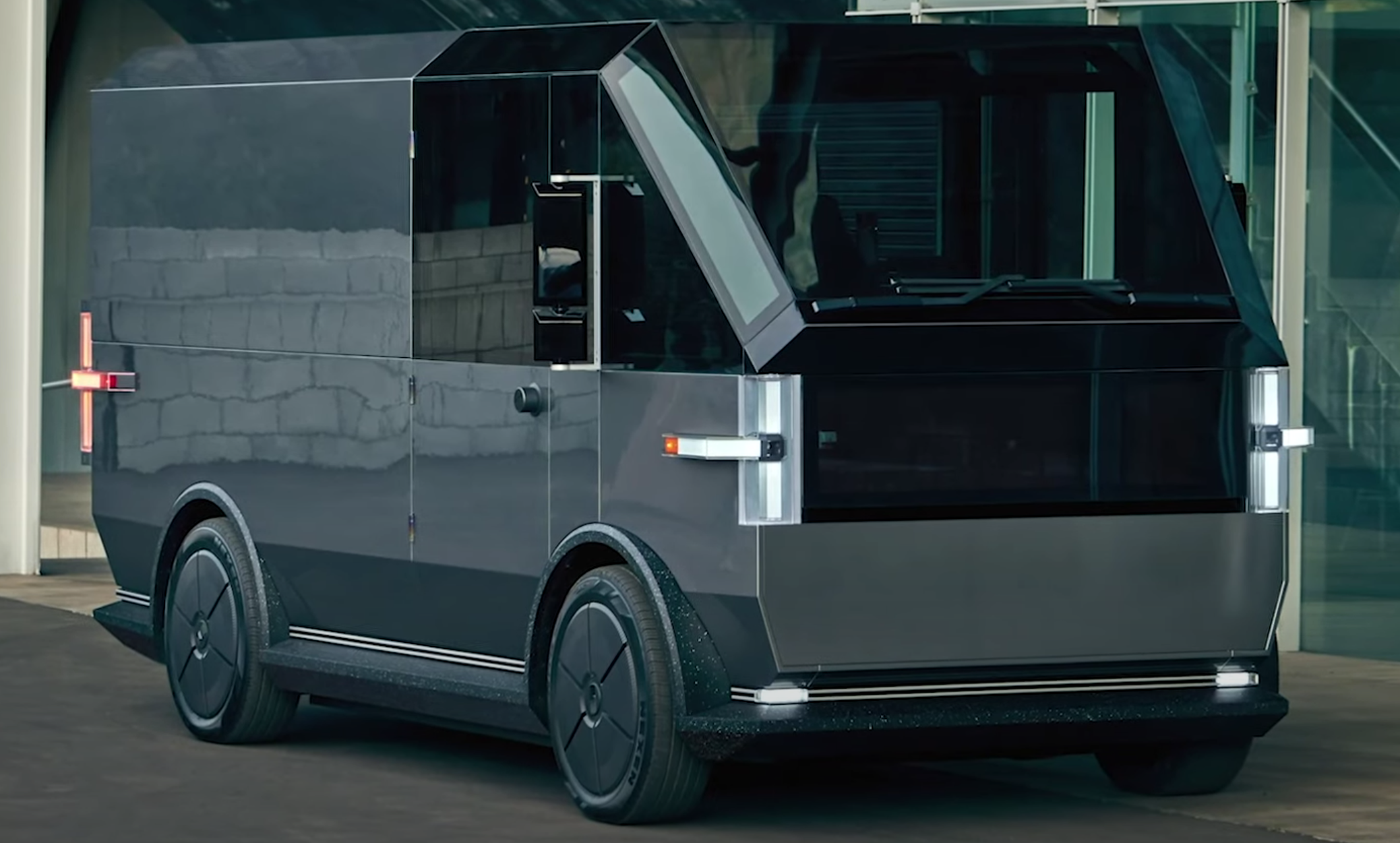 Canoo Unveils Their New Electric Delivery Vehicle