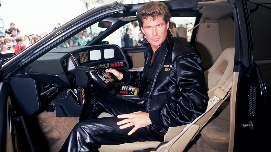 You Could Own KITT: David Hasselhoff Auctions Off 'Knight Rider' Trans Am